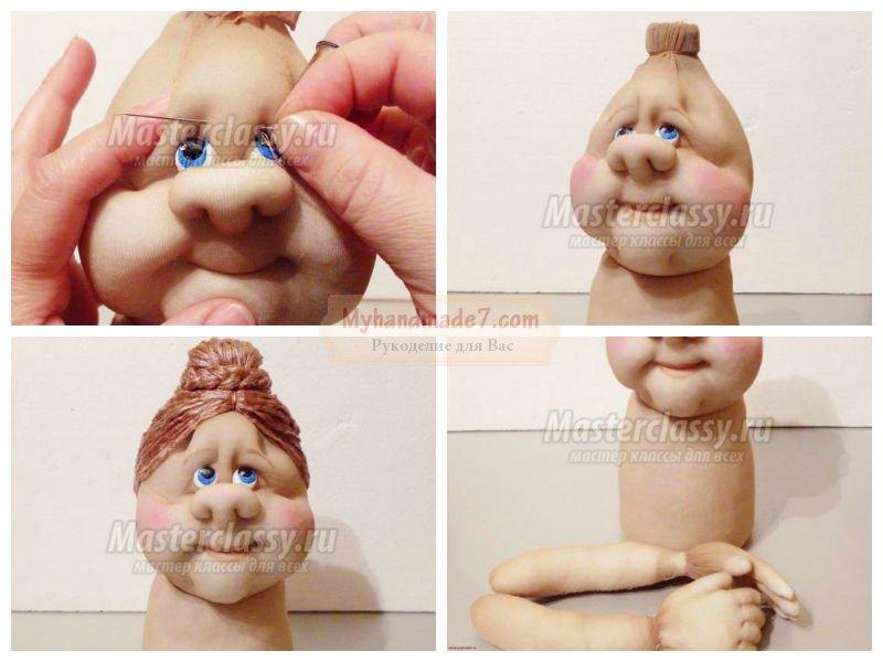 Куклы своими руками пошаговая инструкция для начинающих фото 449