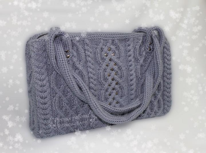 13eea9cc230d Мои вязаные зимние сумки | вязание | Постила