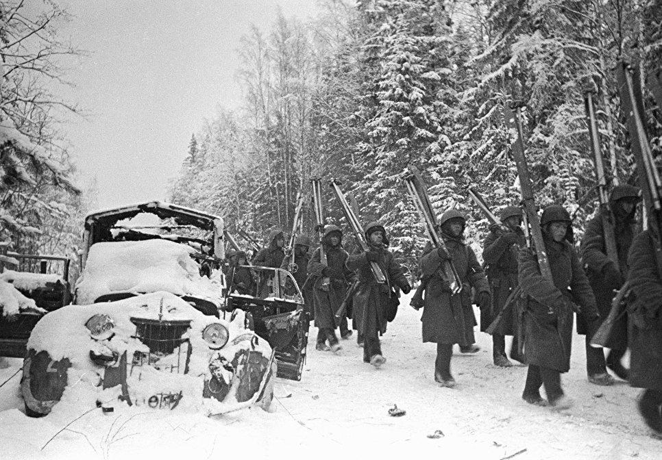 Картинки войны зимой