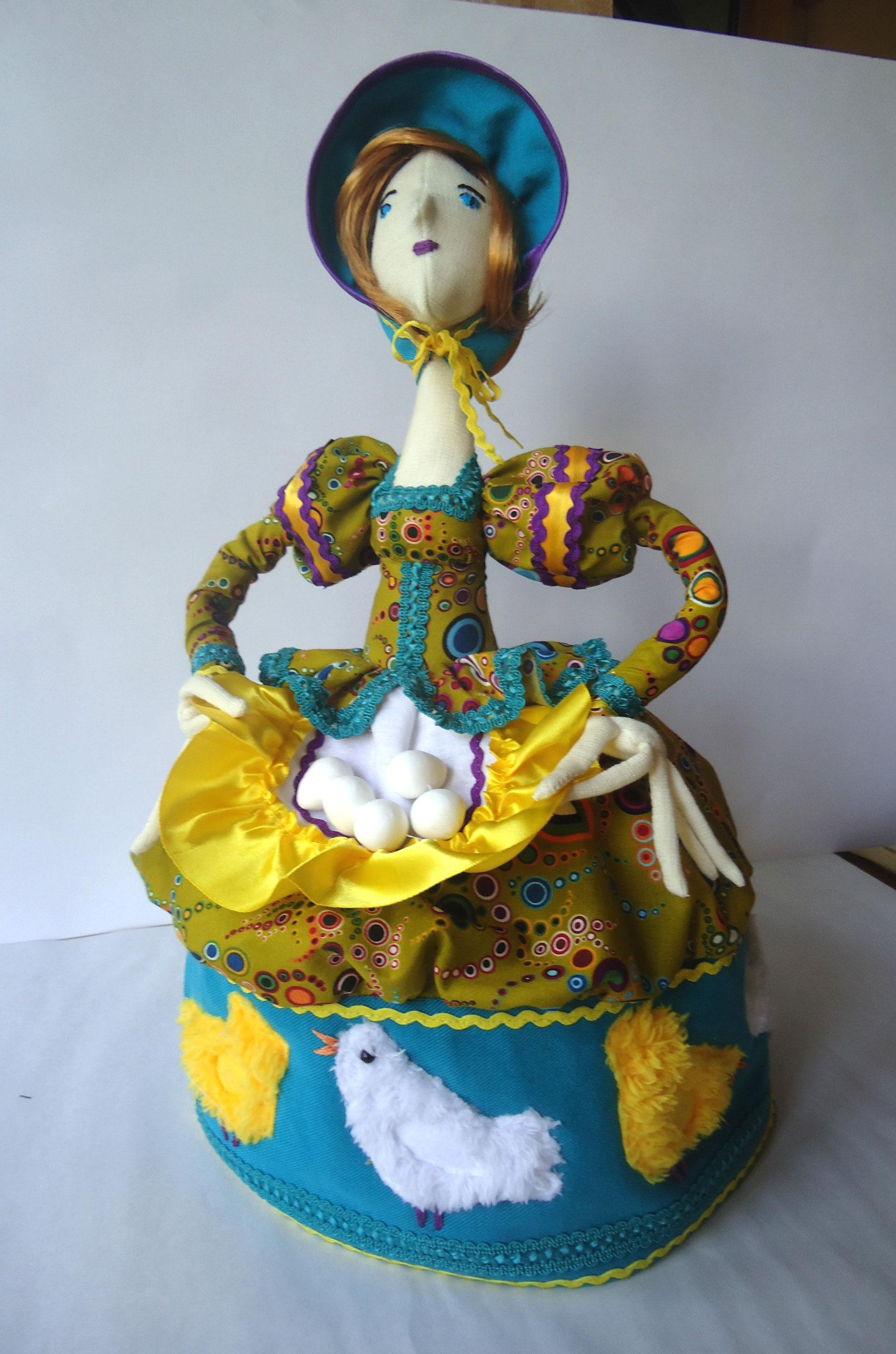 Кукла для чайника своими руками фото 297