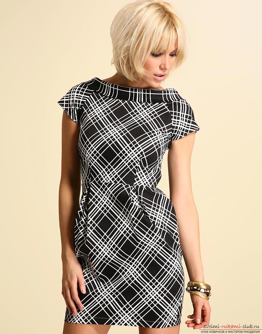 999bbf1a7ffb Простые выкройки платьев для начинающих. Учимся шить своими руками · zoom in