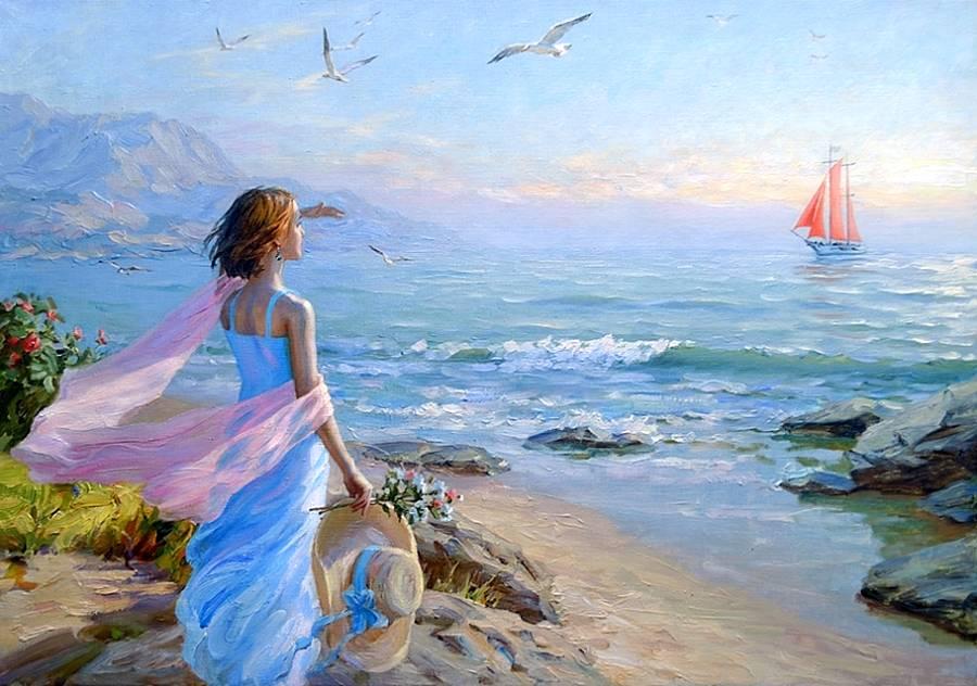 В мечтах о море картинки