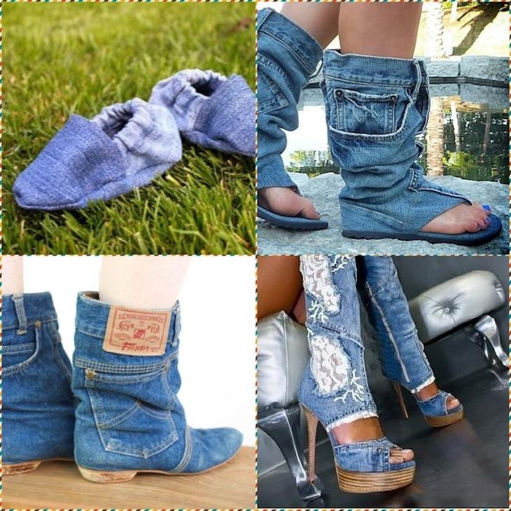 Новая жизнь старой обуви своими руками фото 418