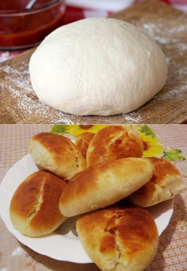 Пышное тесто для пирожков рецепт с фото