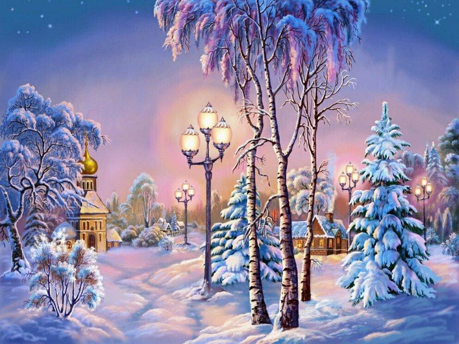 Детские зимние картинки красивые