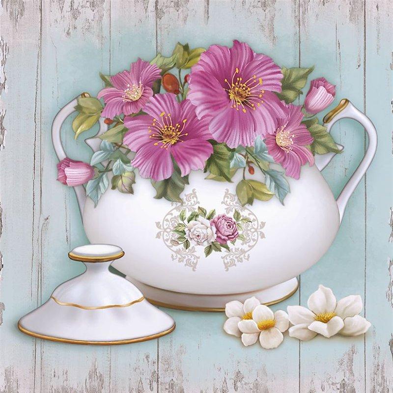 Красивые картинки для декупажа вазы