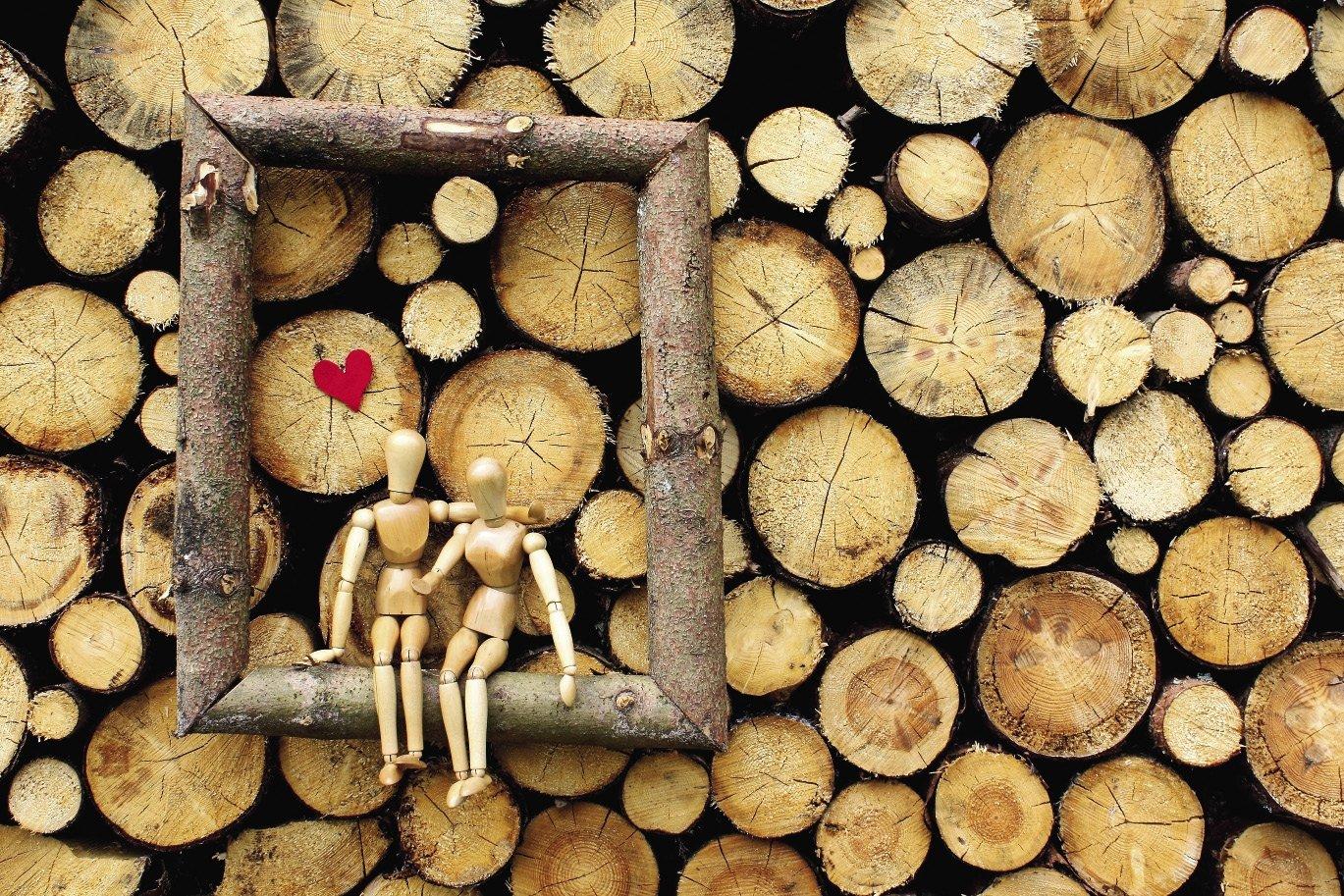 Открытки с деревянной свадьбой