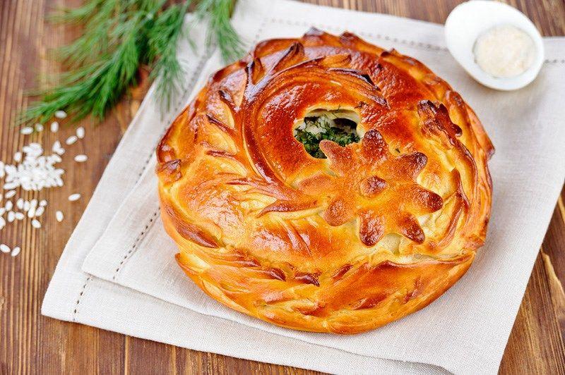 Постные пироги - три рецепта