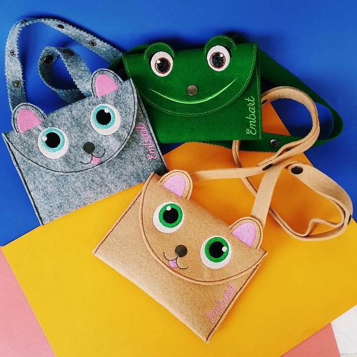 1753e09d05ff Детские сумочки из войлока / Сумки, клатчи, чемоданы / ВТОРАЯ УЛИЦА ...