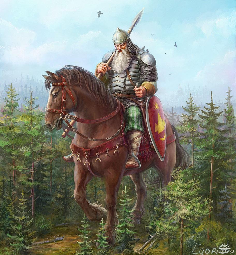 Картинки героев былин