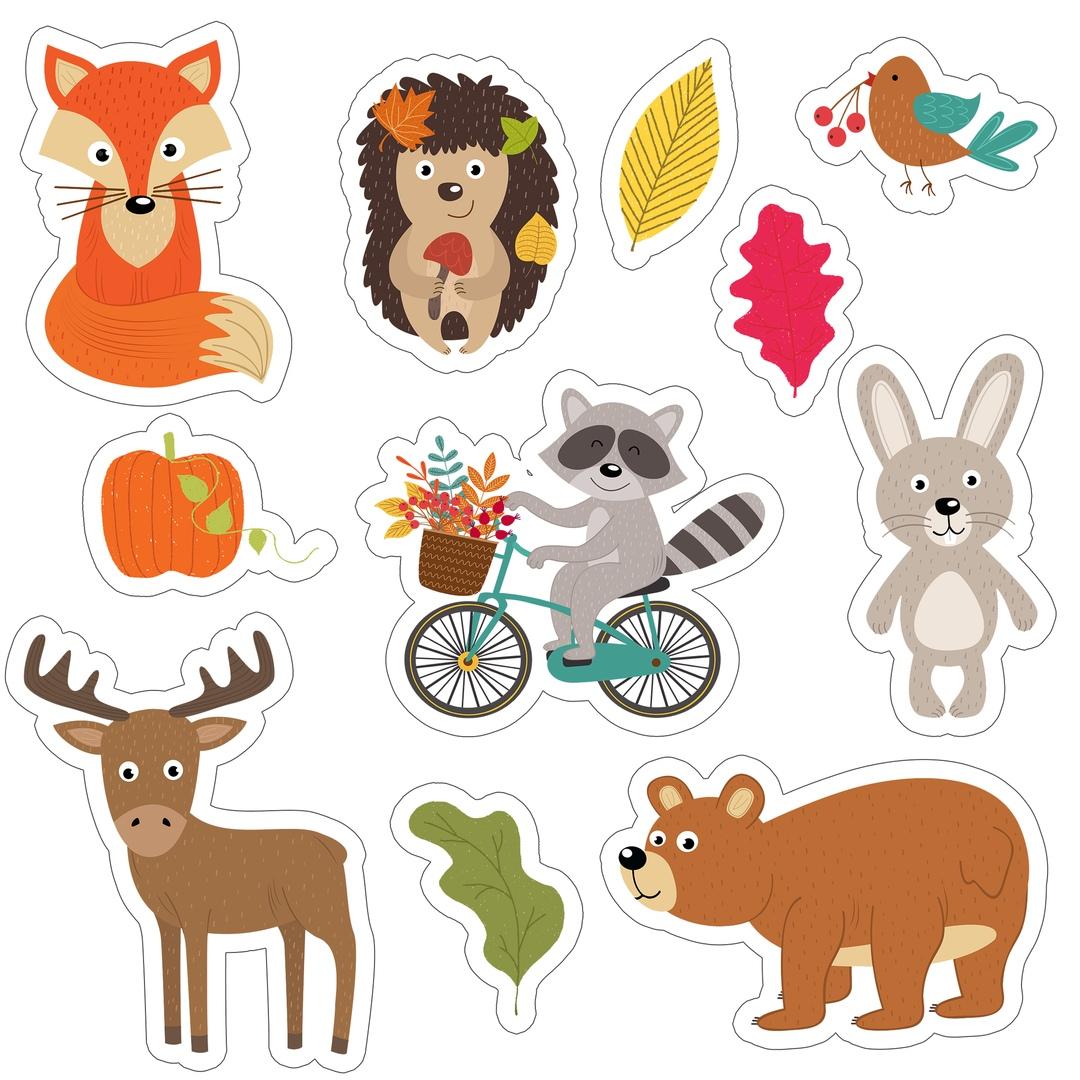 красоту рисунки животных для скрапбукинга каждой организации