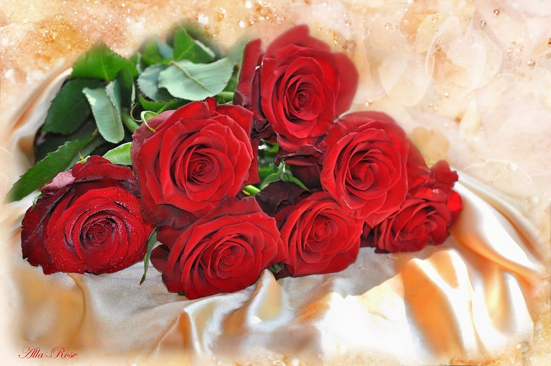 Открытки для любимой с розами