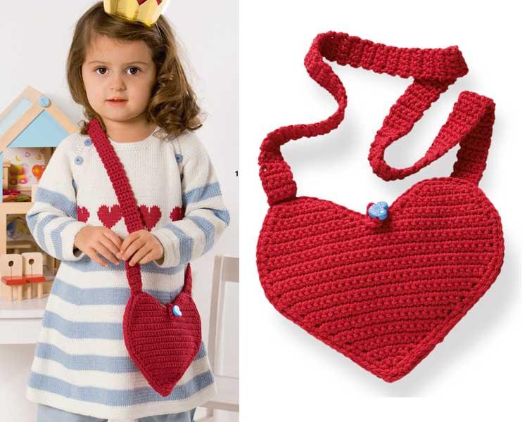 Вязание для девочек сумки 21