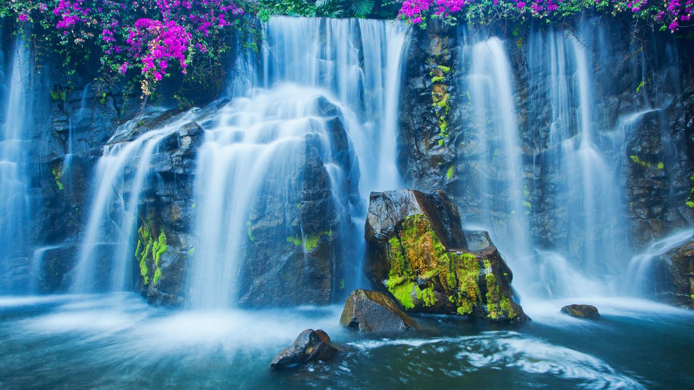 Открытки крещение, картинки для рабочего стола с анимацией водопад