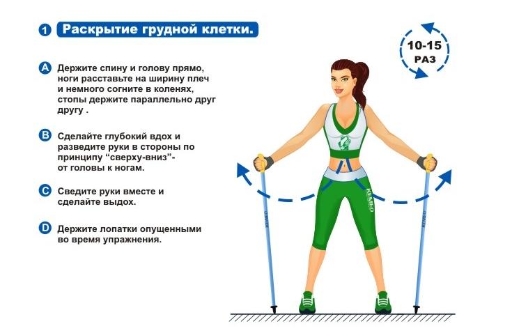 Разминка перед ходьбой для похудения