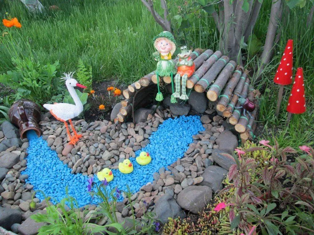 поделка для сада и огорода из бросового материала своими руками патриот