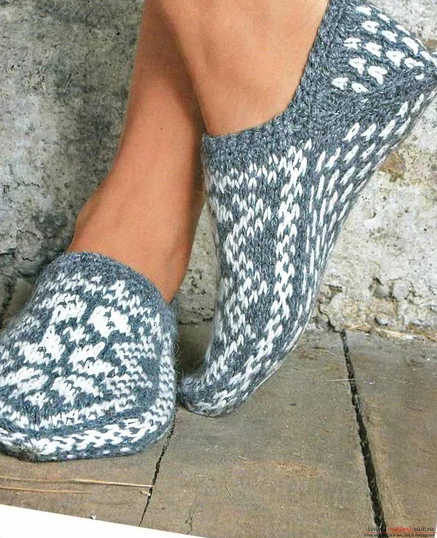 Носки спицами со схемами фото 209
