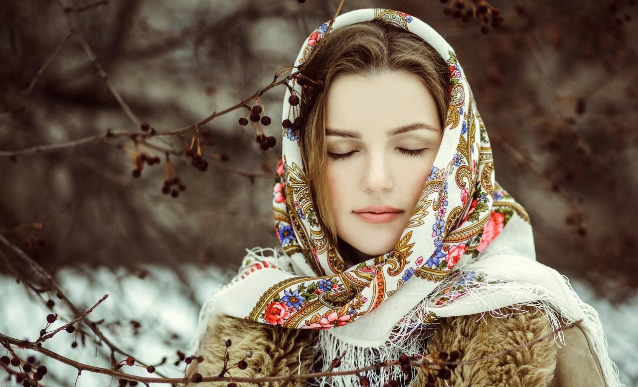 Фото красивых русских девушек и женщин