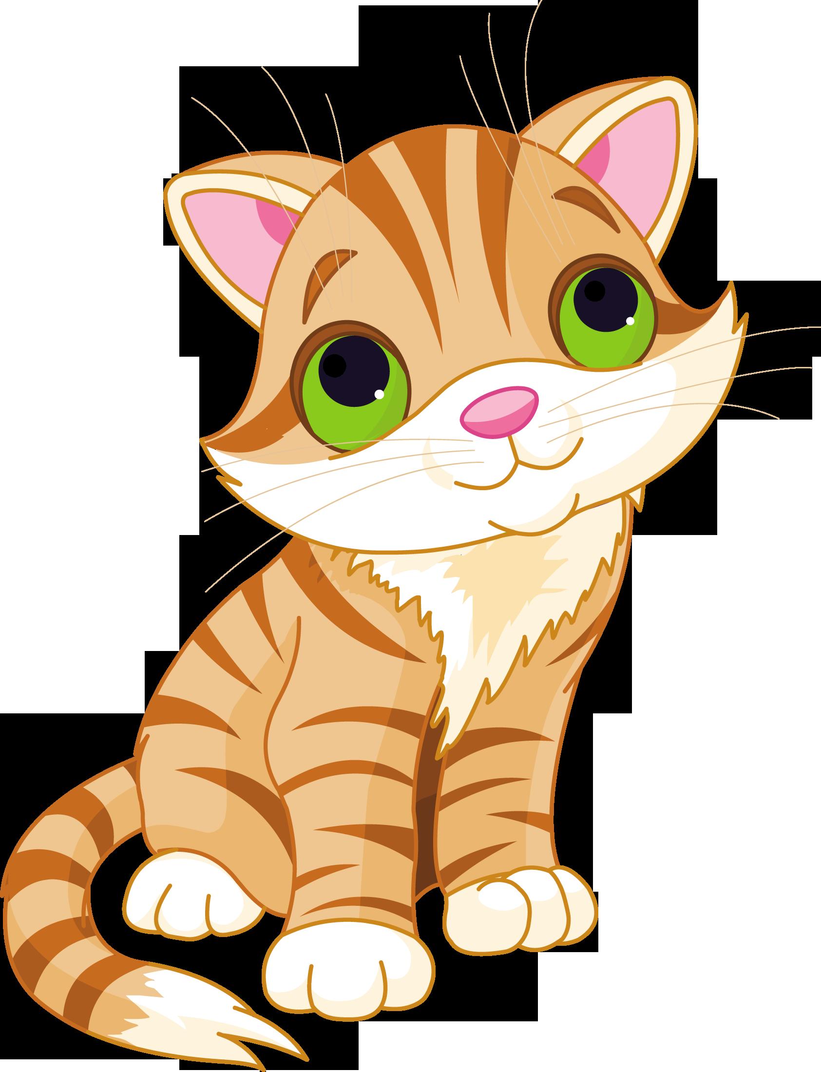 картинки котика мультяшного