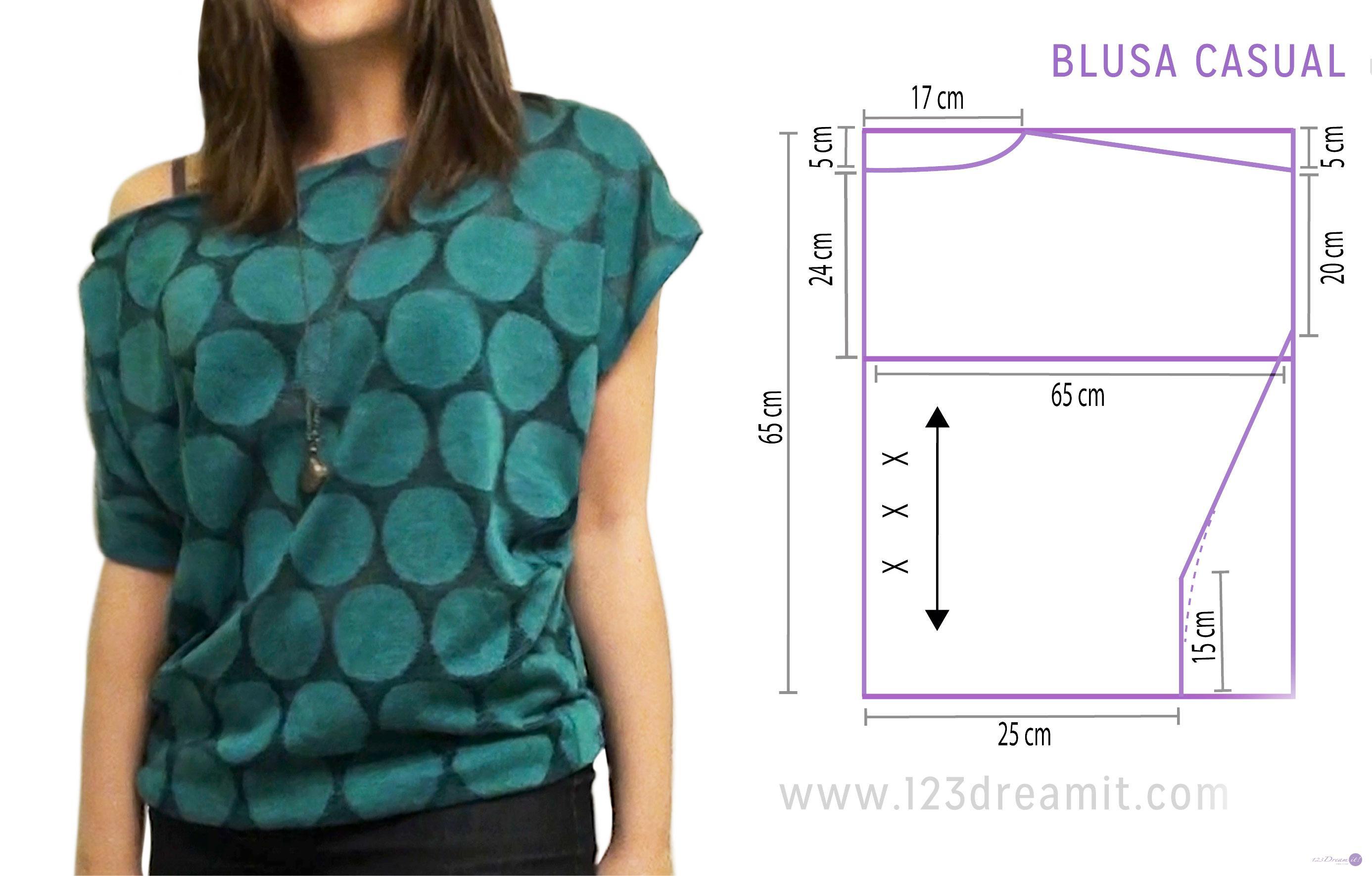 как сшить свободную блузку пошагово с фото картинках изображены различные
