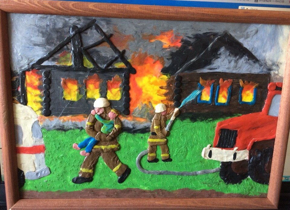 как поделки на пожарную тему в картинках одной