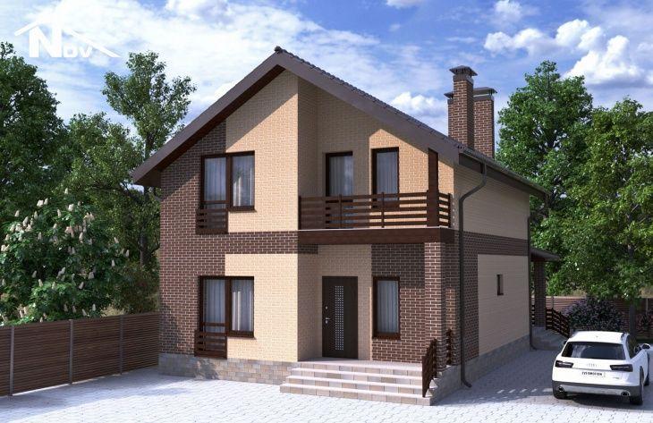 проекты домов из газосиликатного кирпича