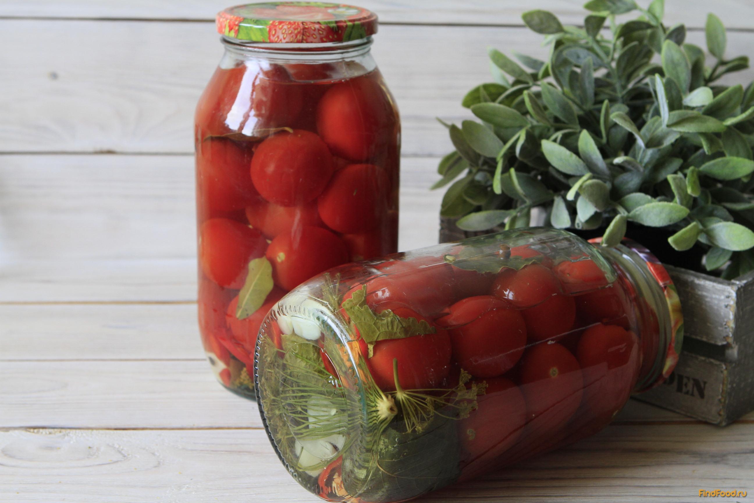 Идеальный рецепт засолки помидоров черри