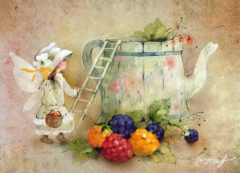 Красивые картинки художников иллюстраторов