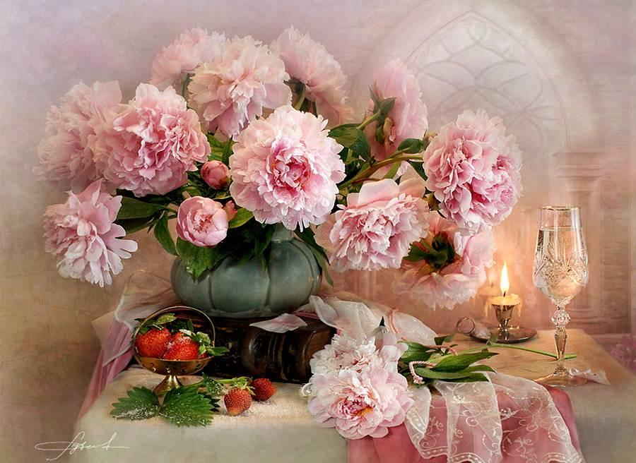нежные цветы картинки натюрморты второй фотографии подача