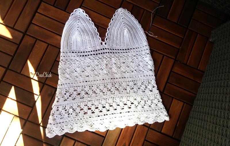 Zomer Top Haken Creachick Crochet постила