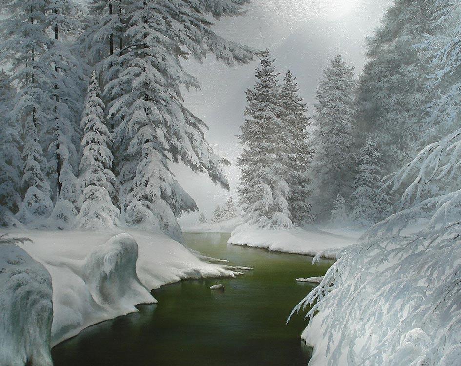 зимние пейзажи фото анимашки этом