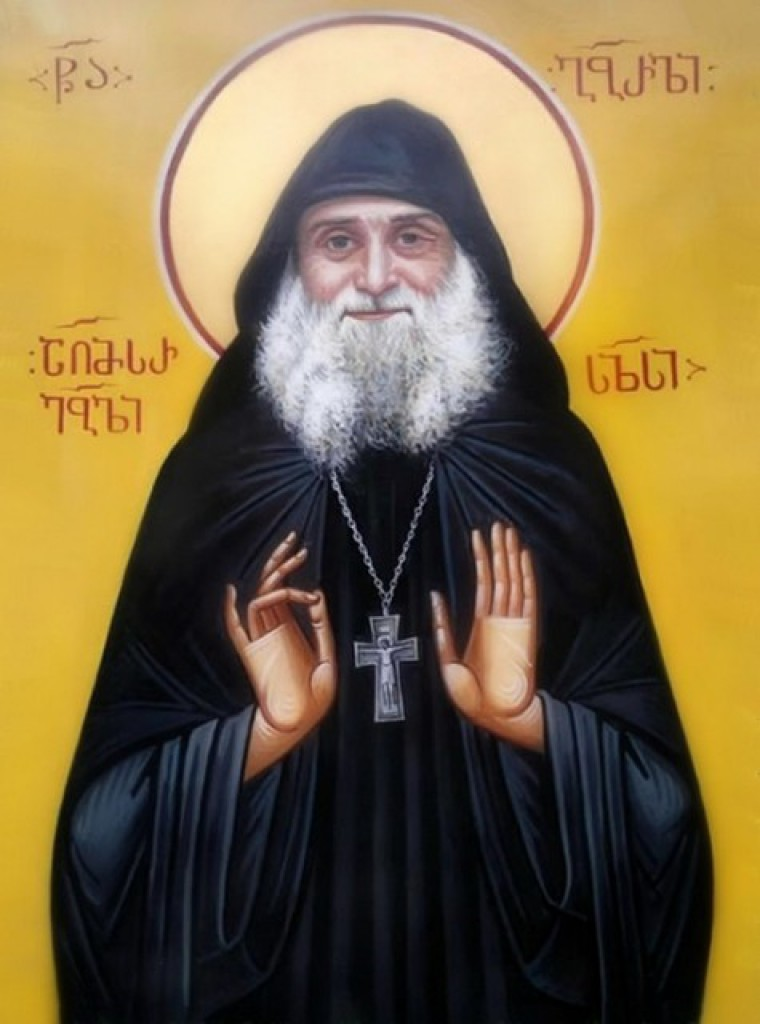 Фото грузинского святого габриэля