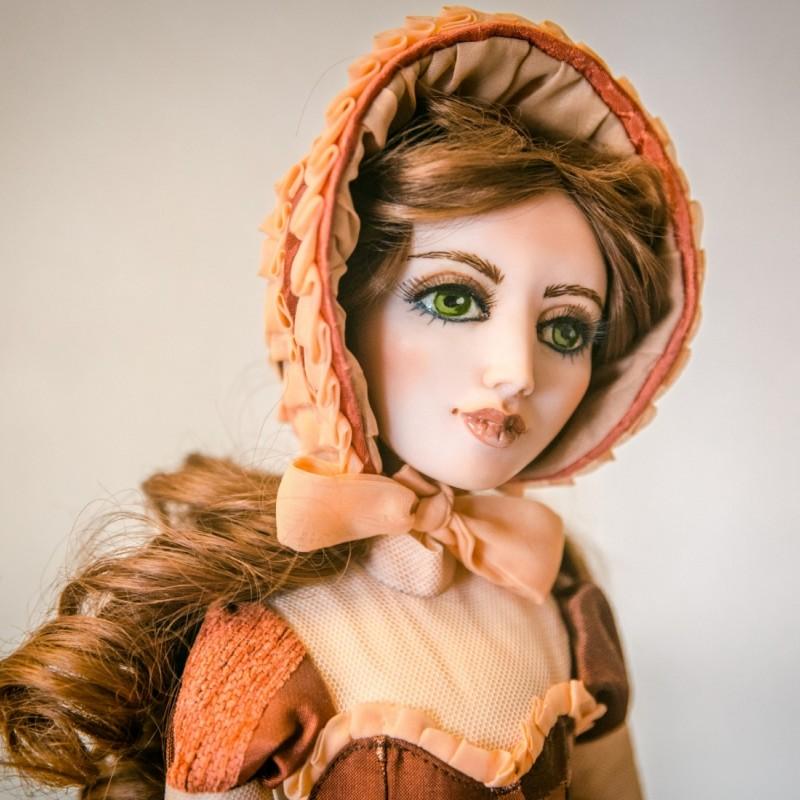 авторские куклы из полимерной глины фото вещи имеют простой