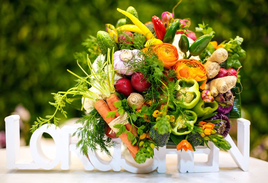 целесообразности такой поздравления на свадьбу с овощами и фруктами если