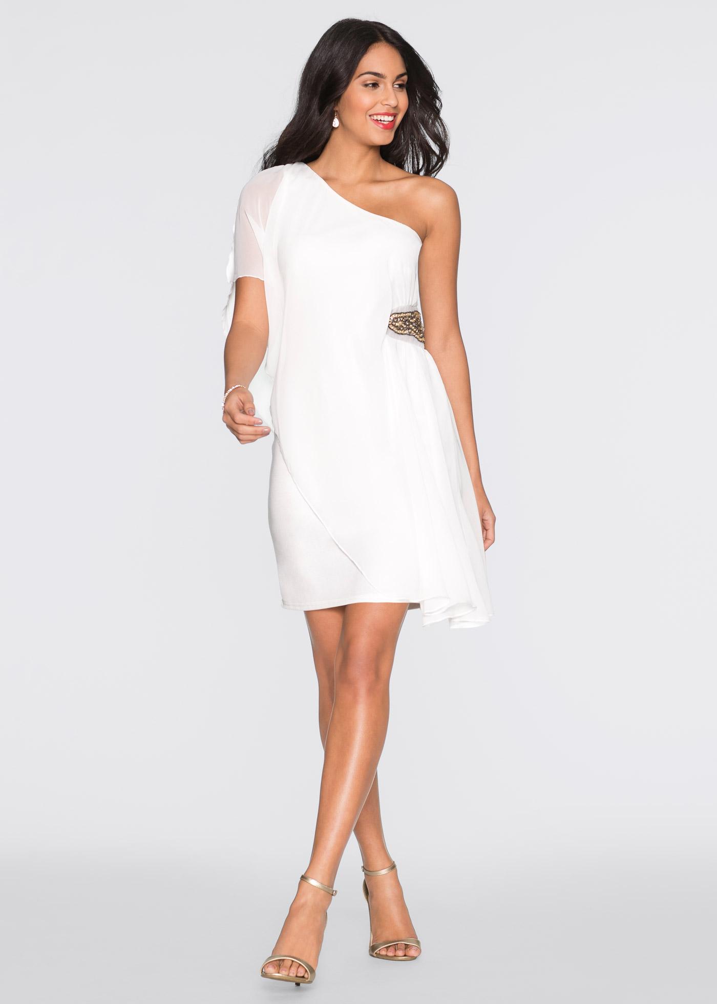 White wool petite dresses