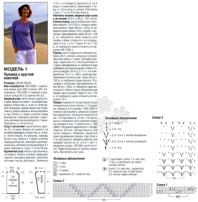 Планета Вязания Простые узоры спицами: плотный узор 96