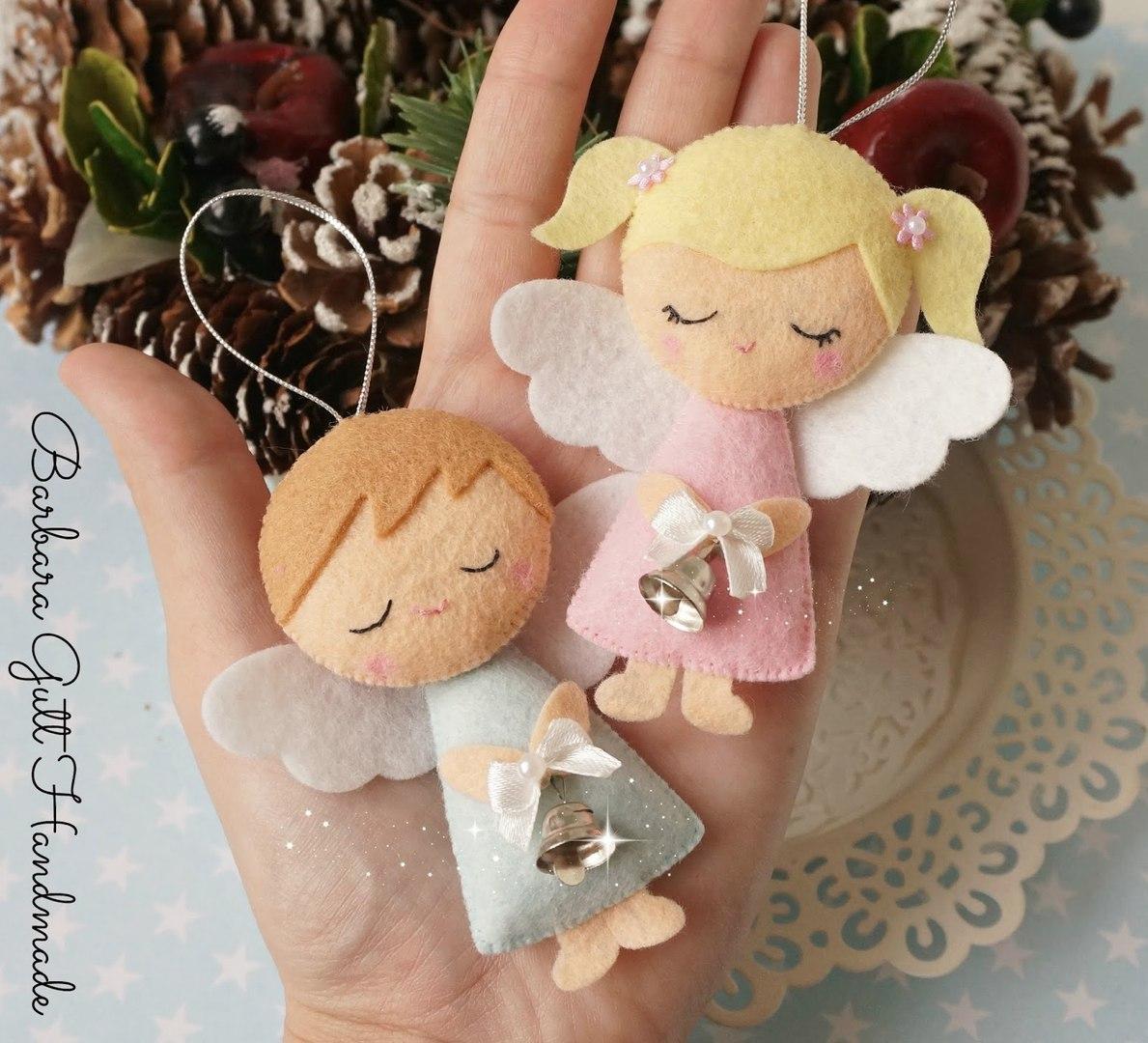 Ангелочек из фетра своими руками с выкройками фото 224