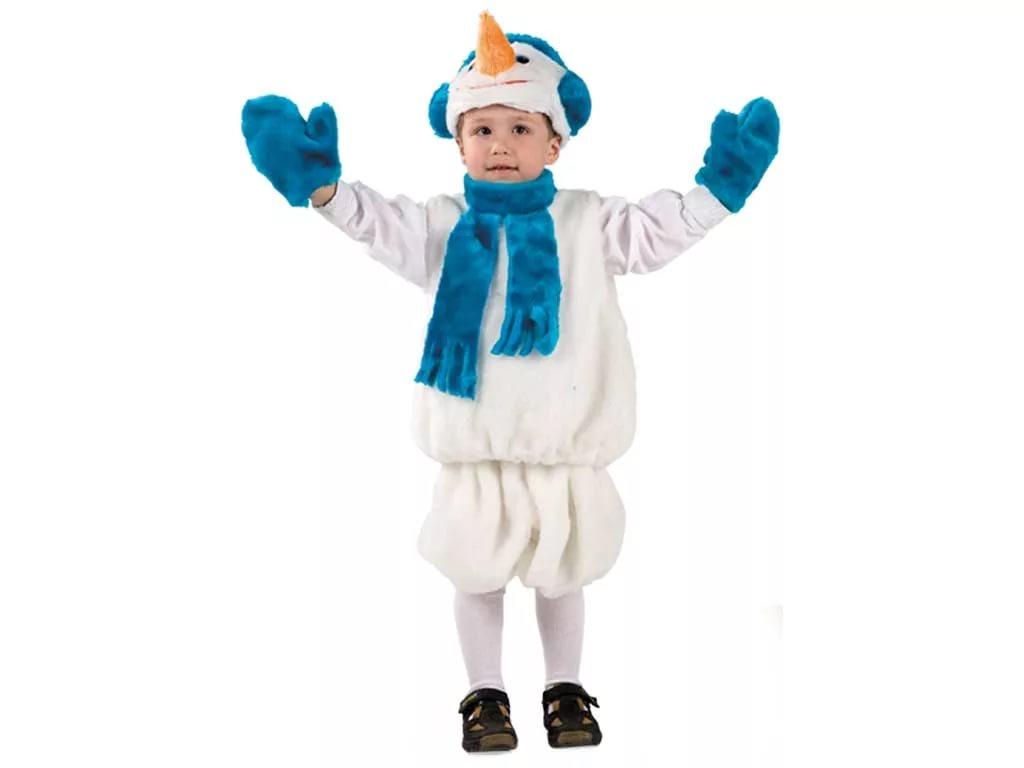 Как сшить костюм с снеговиками