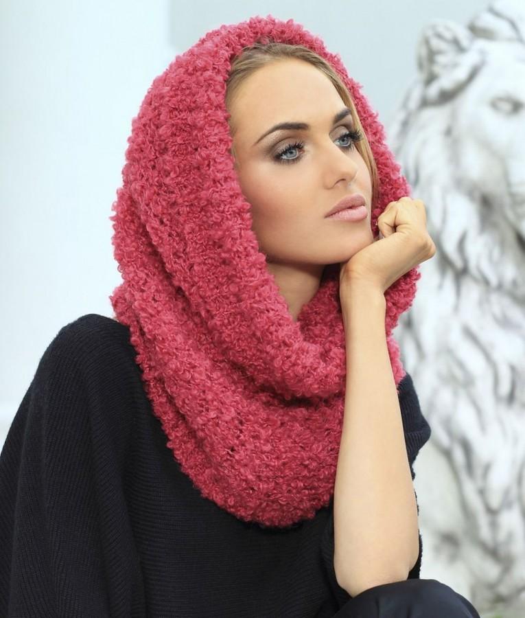познакомились зимний шарф на голову фото людмилы, уговаривающая