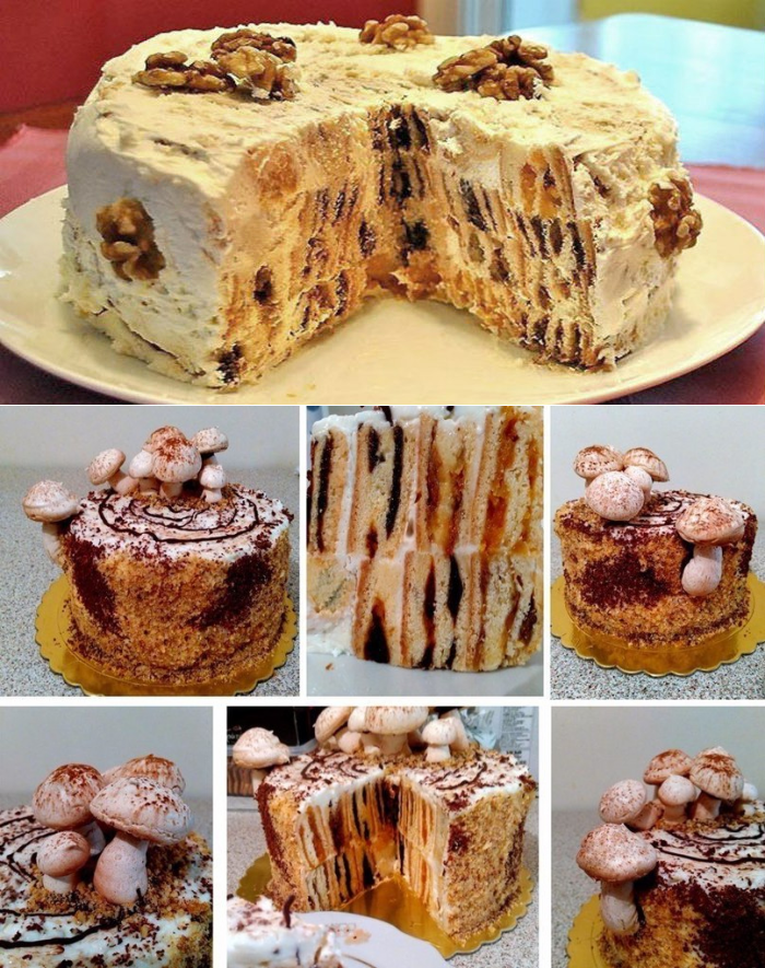 хаггисом рецепт торта трухлявый пень пошаговый с фото все торты