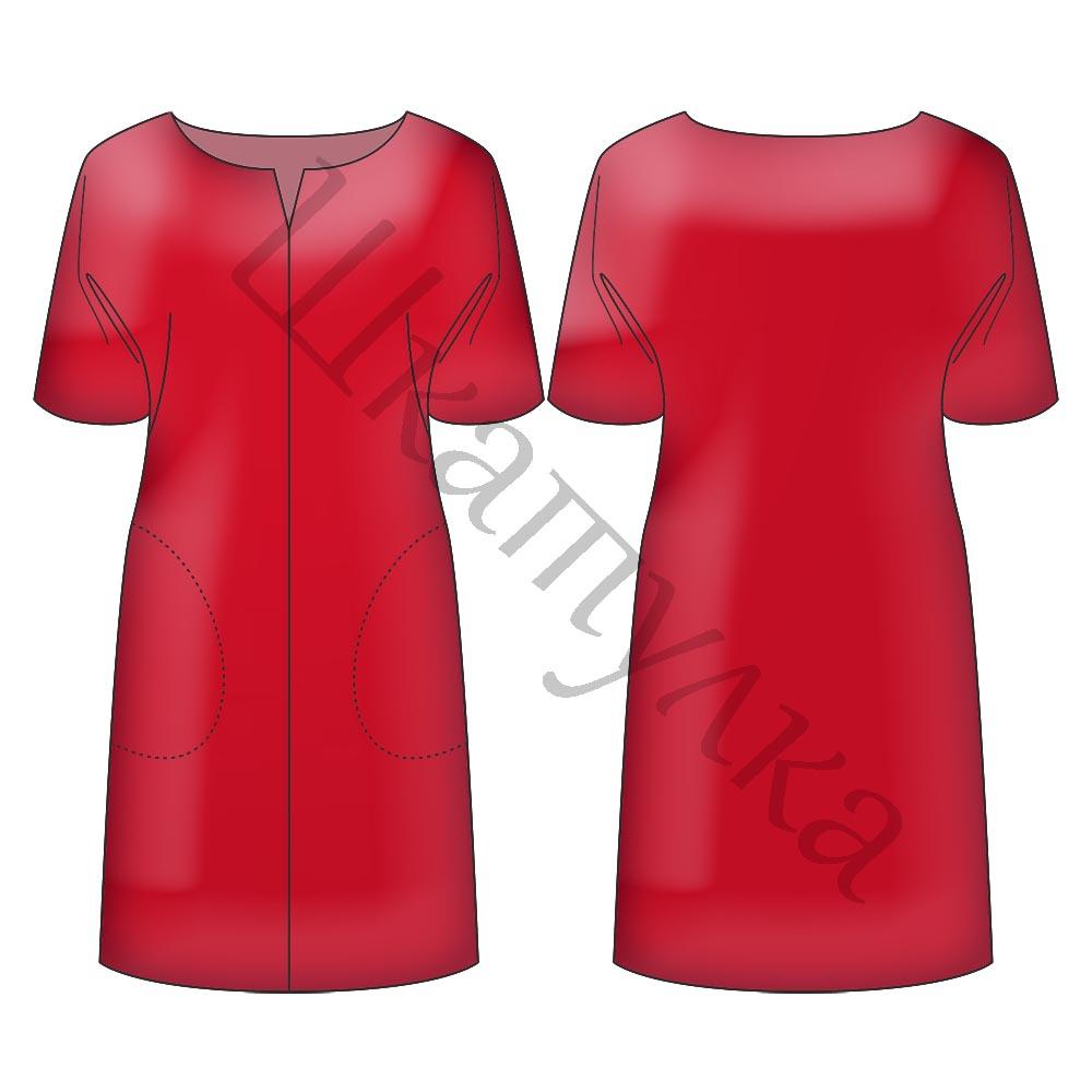 Выкройки для платьев в картинках для фото 759