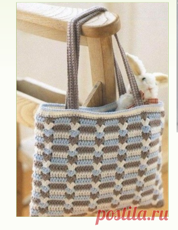 Вязание летней сумки