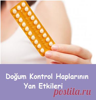 Doğum Kontrol Haplarının Yan Etkileri-Sağlık Mektebi