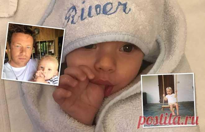 Младшему сыну Джейми Оливера исполнилось 2 года