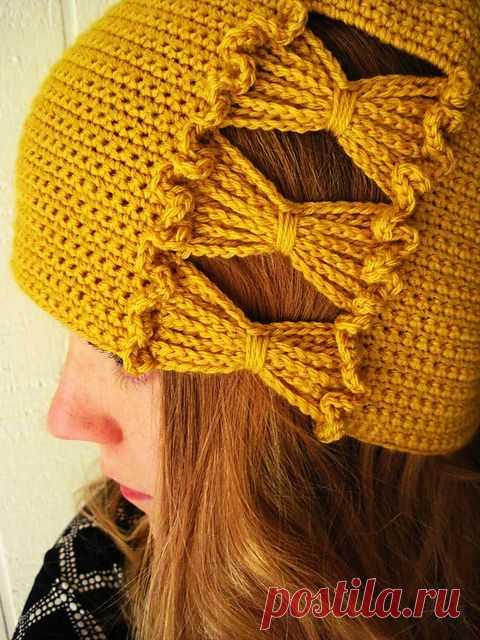 Francie's Hat pattern by Sara Kay Hartmann
