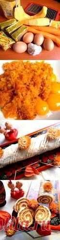 Овощной рулет - закуска (без муки!!!) к празднику 8 Марта