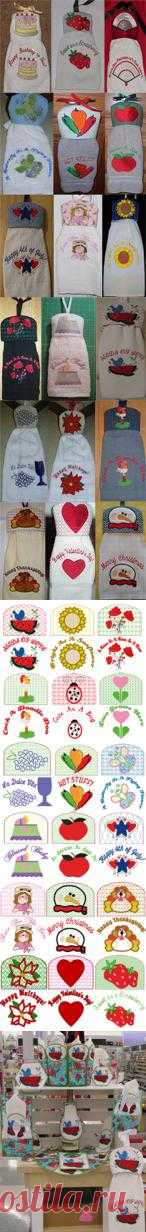 CassandrasEmbroidery.com - Dining Sets Towel Toppers And DesignsAll