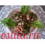 Фаршированные шампиньоны Кулинарный рецепт