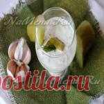 Рецепт белого соуса с огурцом