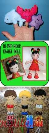 In The Hoop Tasha Doll Design - Newfound Applique